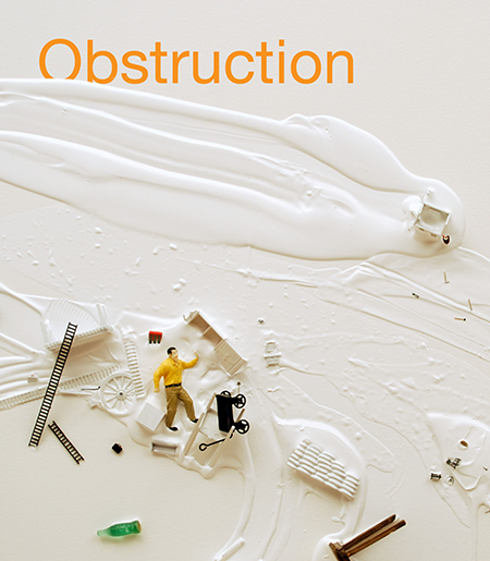 Obstruction book cover